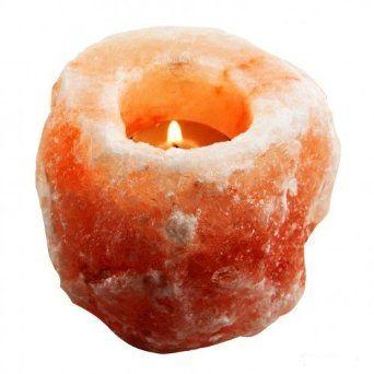 Lampa solna świecznik